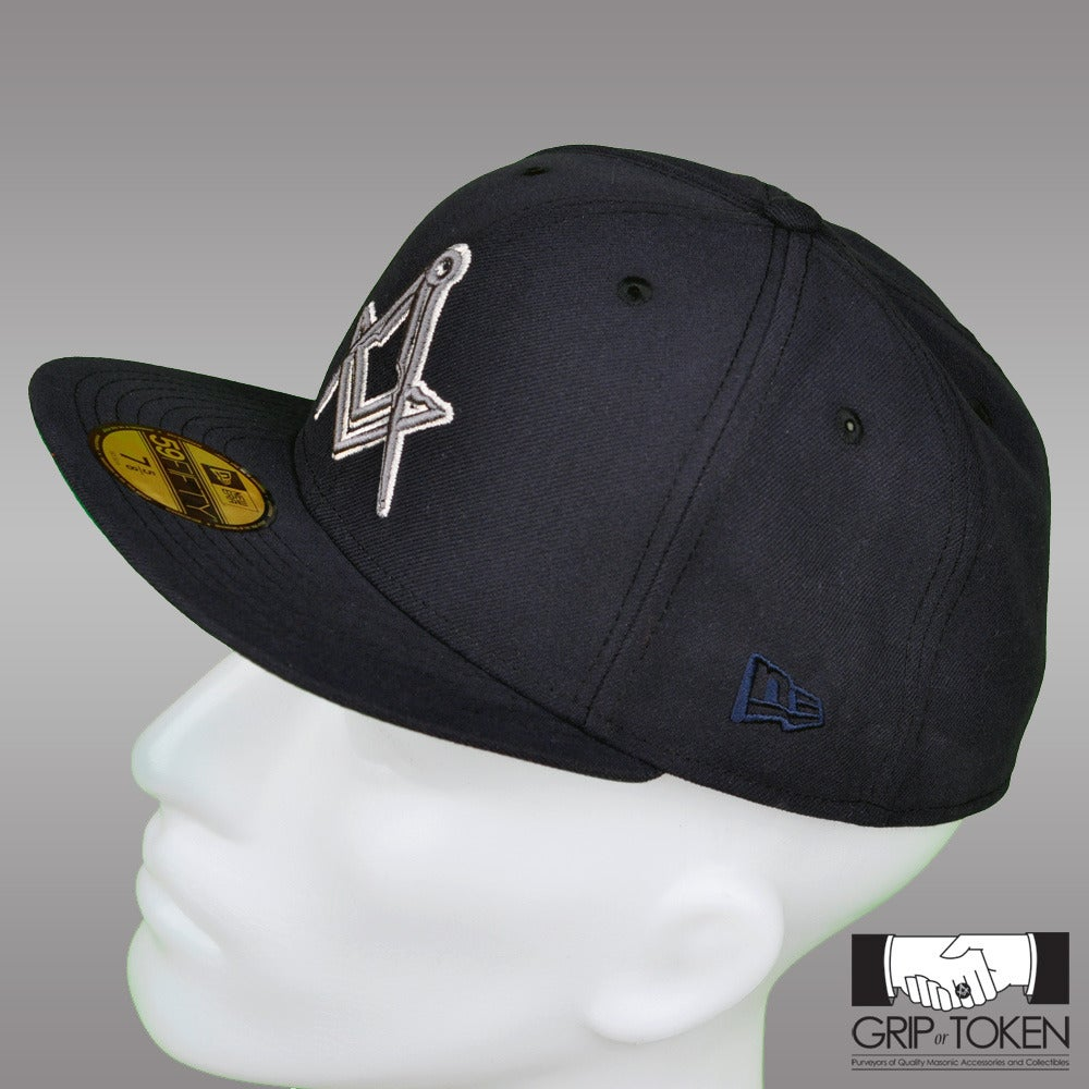 Image of New Era 5950 Fitted Cap - Navy