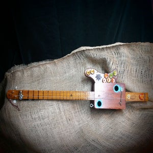 Image of Two String Cigar Box Guitar