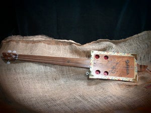 Image of 3 String Cigar Box Guitar