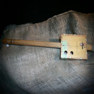 Image of One String Cigar Box Guitar