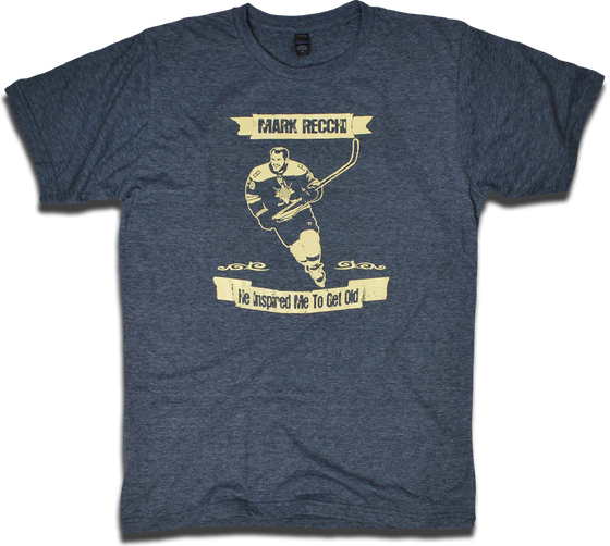 "Image of Mark Recchi ""Inspired Me To Get Old"" tee by Backpage Press"