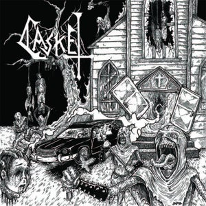 Image of Casket - S/T 7""