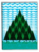 Image of Deco Trees [Art Print]