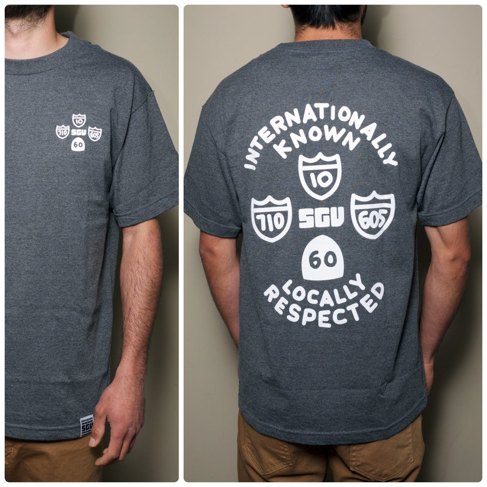 Image of SGV 4 Freeways t-shirt