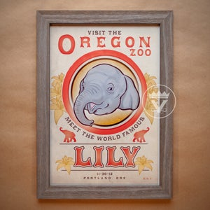 Image of The Famous Lily - Art Print