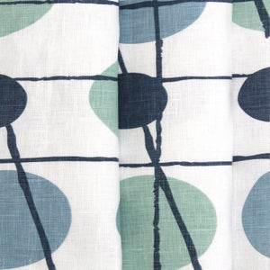 Image of Pavilion Linen Fabric - Chalkhill Blue