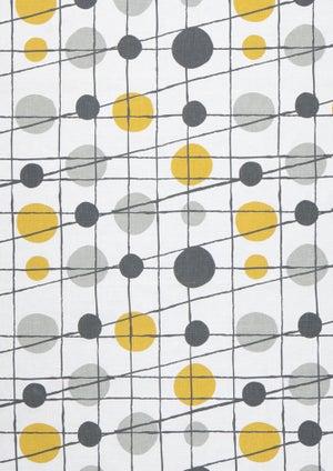 Image of Pavilion Linen Fabric - Mustard