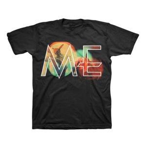 Image of ME mens big logo t-shirt (black)
