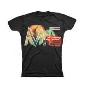 Image of ME ladies big logo t-shirt (black)