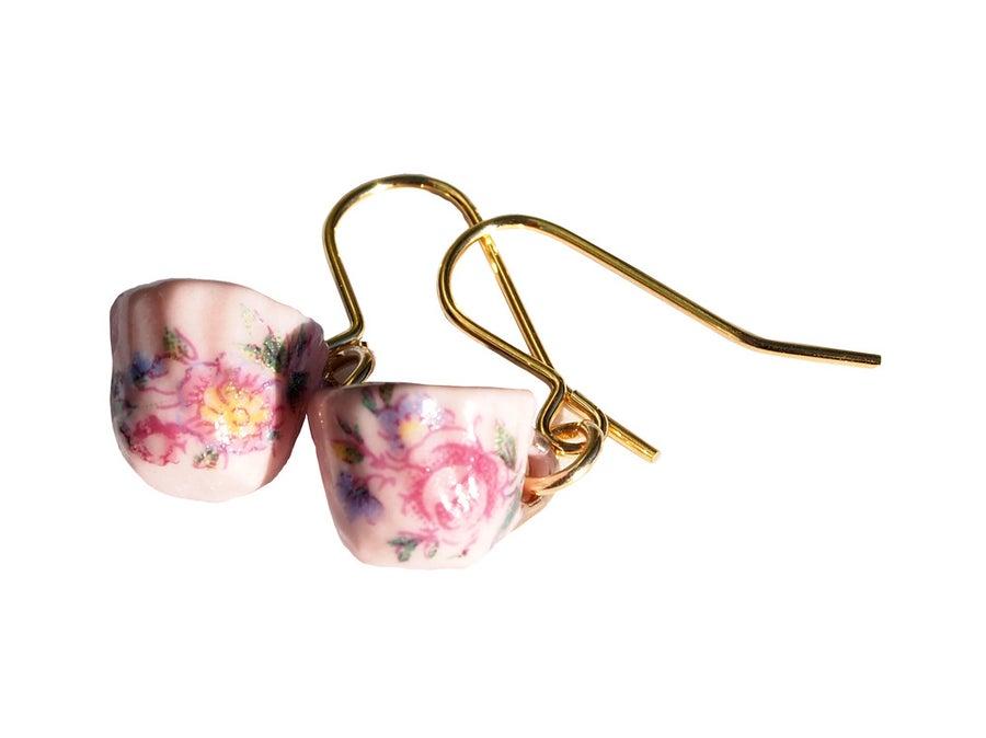 Image of gold earrings