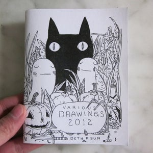 Image of Various Drawings 2012 Zine