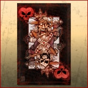 Image of BAD ACE King of Hearts Print