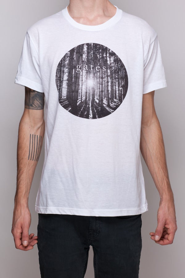 Image of White 'Forest' Shirt