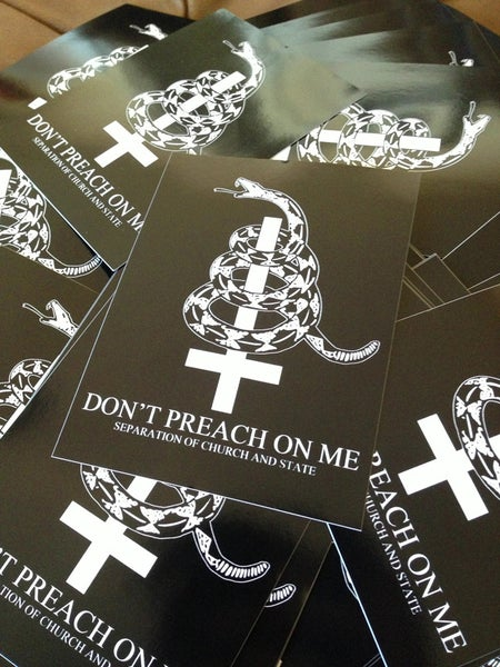 Image of Don't Preach On Me - Sticker