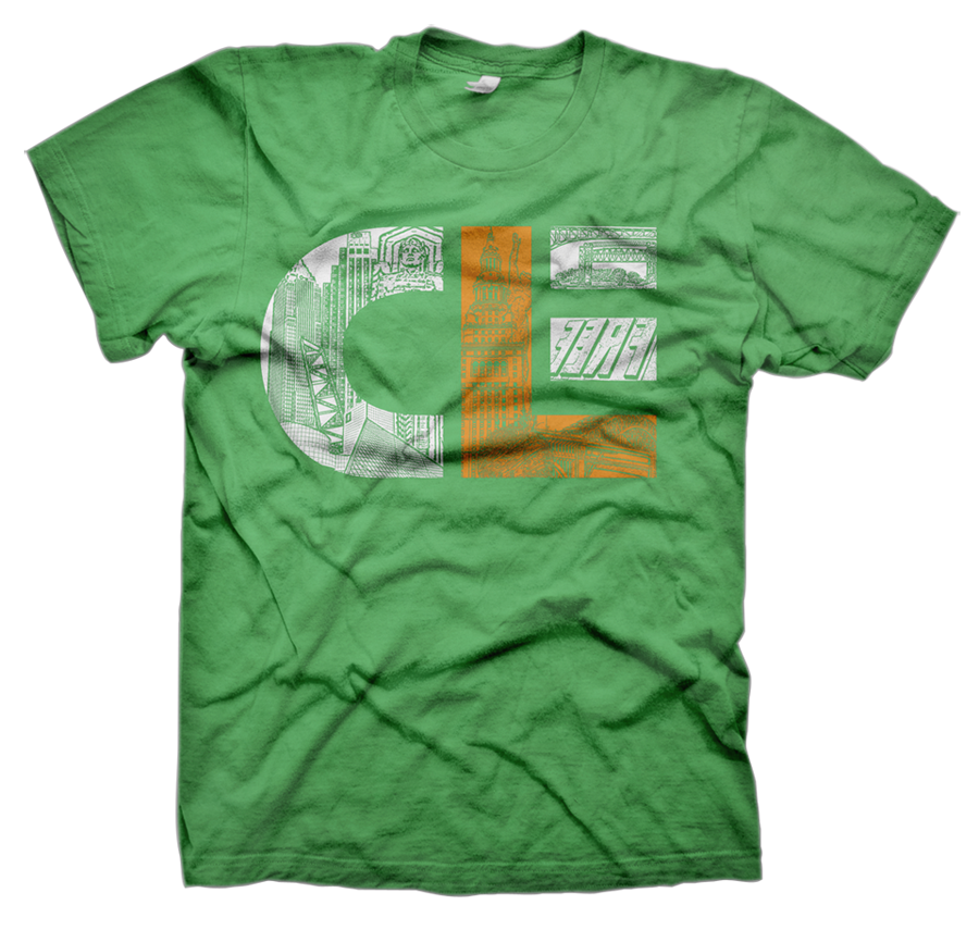 Ilovecle cle irish 2013 for Cleveland t shirt printing