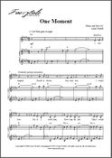 Image of One Moment (Digital Sheet Music)