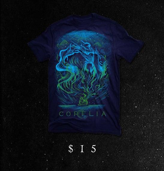 Image of 'Risen' T-Shirt (navy blue)