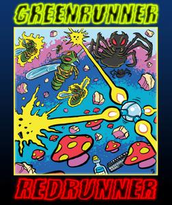 Image of Greenrunner / Redrunner / Retroskoi+ (Commodore 64)