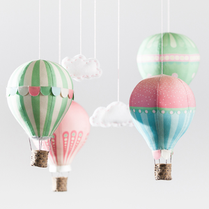Image of Air Balloon Mobile Kit - Pink
