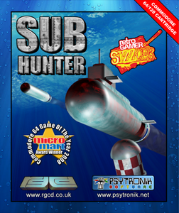 Image of Sub Hunter (Commodore 64)