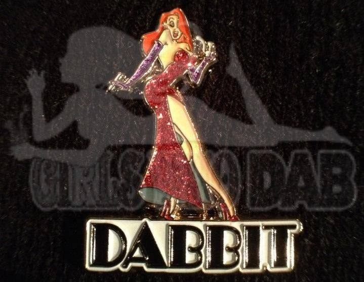Image of Limited Edition Jessica Dabbit Cloisonné Pin