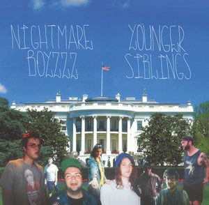 Image of Nightmare Boyzzz / Younger Siblings Split 7-inch