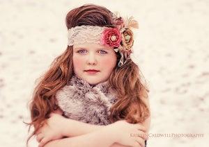 Image of Stella Marie} Vintage Headband