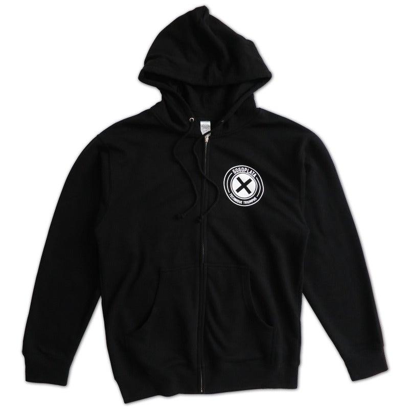 Image of Technique Zip Hoodie (black)