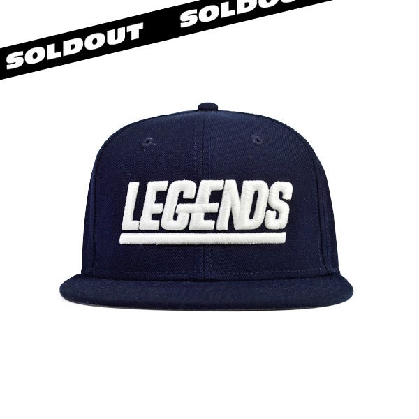Image of NAVY LEGENDSNAPBACK