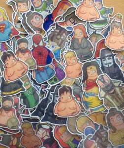 Image of Mega Moobie Mix Sticker Pack