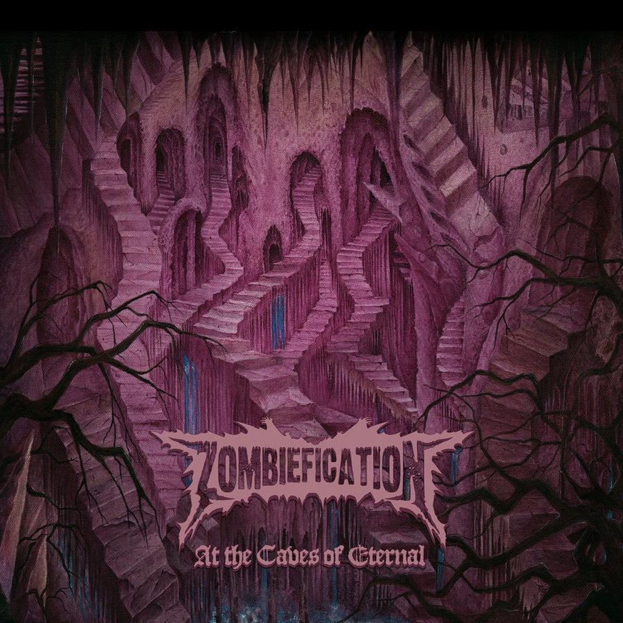 """Image of ZOMBIEFICATION """"At The Caves Of Eternal"""" Digipak CD"""