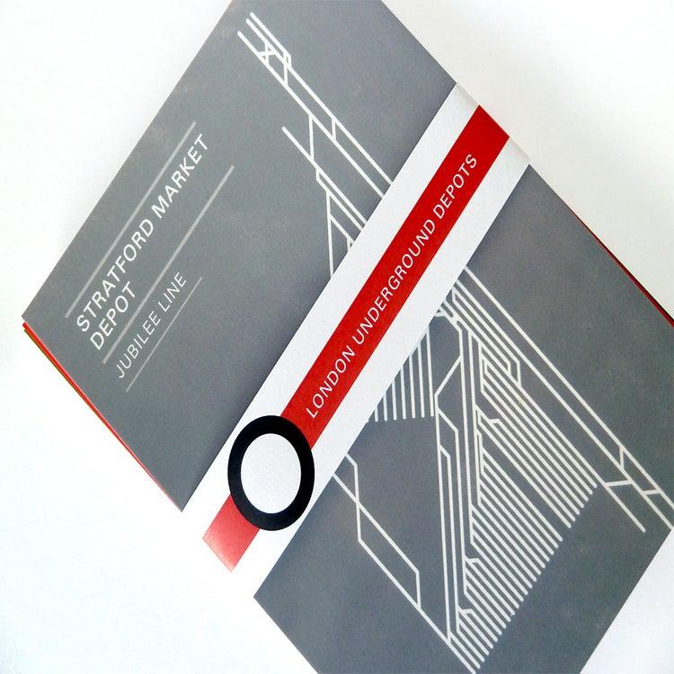 Image of London Underground Depot Postcard (single)