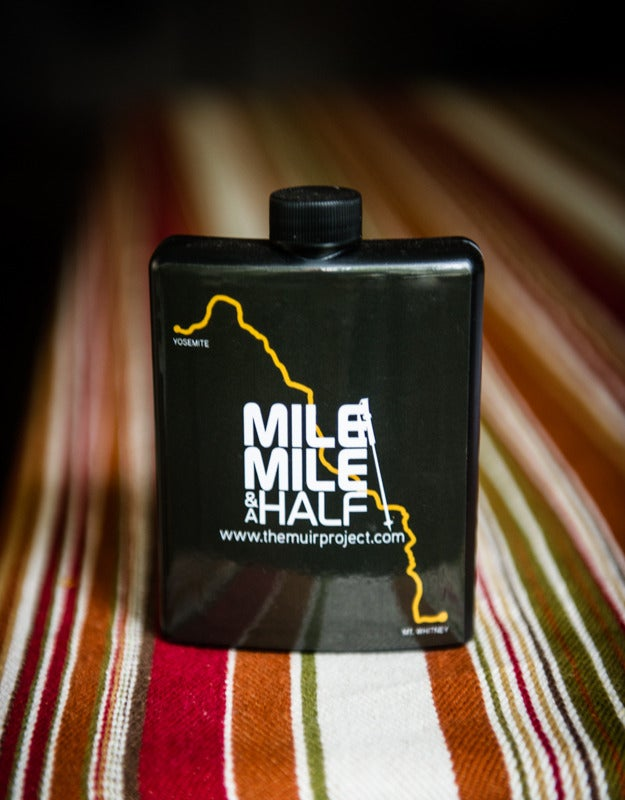 Image of Mile... Mile & A Half Plastic Recyclable flask