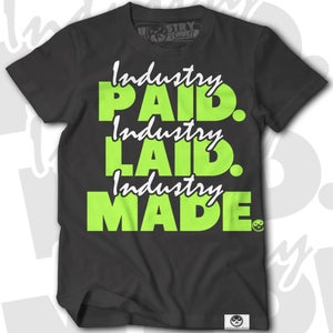 Image of Industry Paid Black/Lime