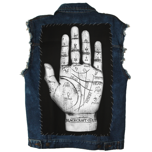 Image of Palm Reader - Back Patch