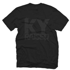 Image of KY Raised in Black on Black
