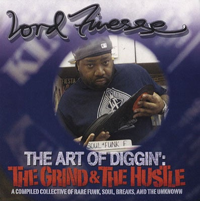 """Image of Lord Finesse """"The Art Of Diggin: The Grind & The Hustle"""" CD"""