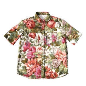 Image of PETAL PUSHER SHORT SLEEVE SHIRT GREY