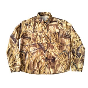 Image of FOREST CAMO LONGSLEEVE SHIRT/JACKET