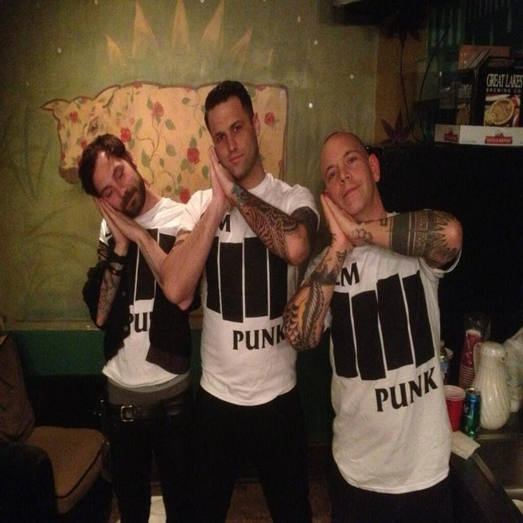 CM Punk, Black Flag parody shirt