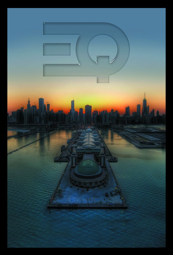 Image of Ether Q - EQ Chicago Poster