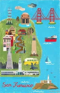 Image of San Francisco City Map