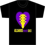 Image of WILDWOODstock 2013 Unisex BLACK T-shirt