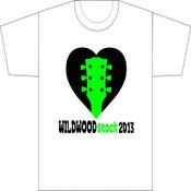 Image of WILDWOODstock 2013 Unisex WHITE T-shirt