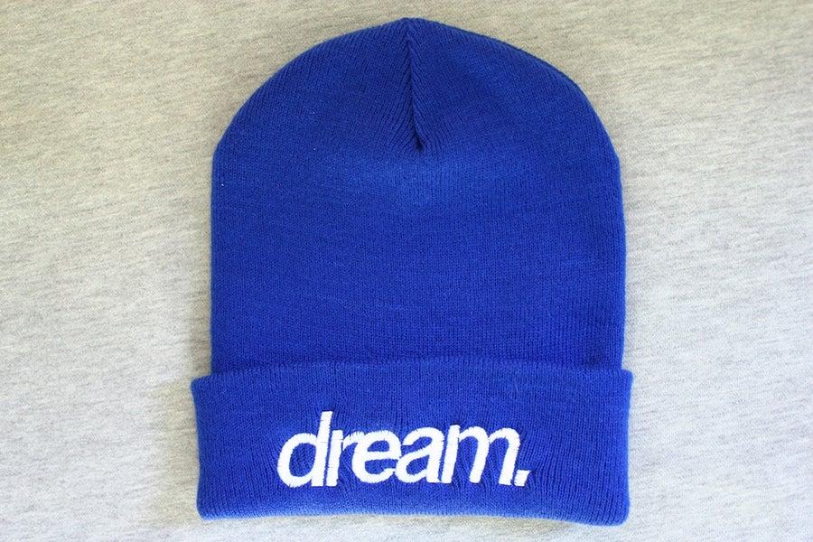 Image of dream. Beanie (Blue)