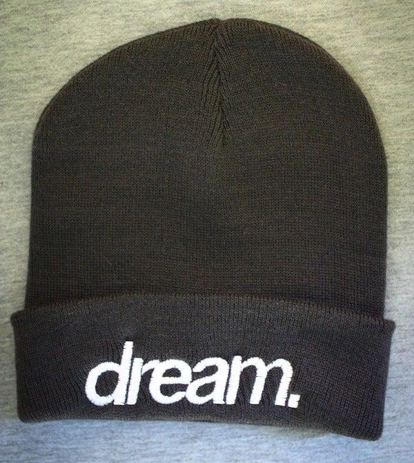 Image of dream. Beanie (Grey)