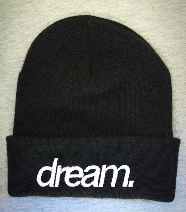 Image of dream. Beanie (Black)
