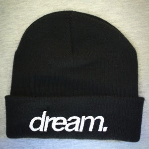 Image of dream. Beanie (Black)