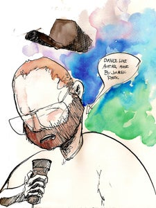 Image of Dan Deacon at Bunbury 2012 Print