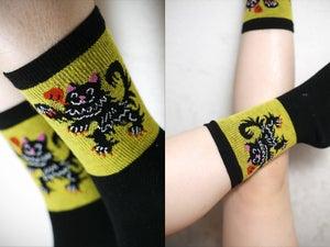 Image of Kitten of Flanders Socks